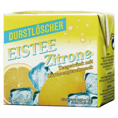 Durstlöscher Eistee Zitrone - 500ml