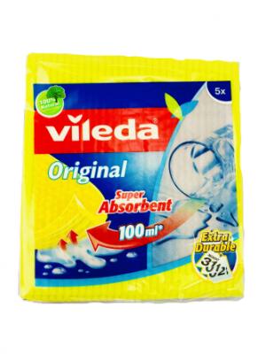 Vileda Original Schwammtuch 5er
